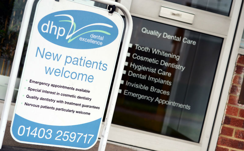 New Patients Sign - DHP - Cropped